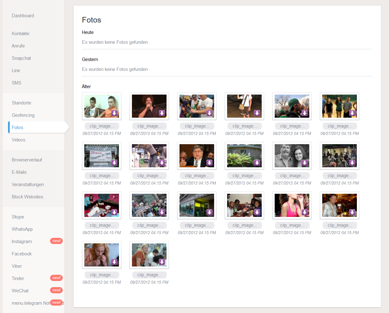 Video & Foto Überwachung